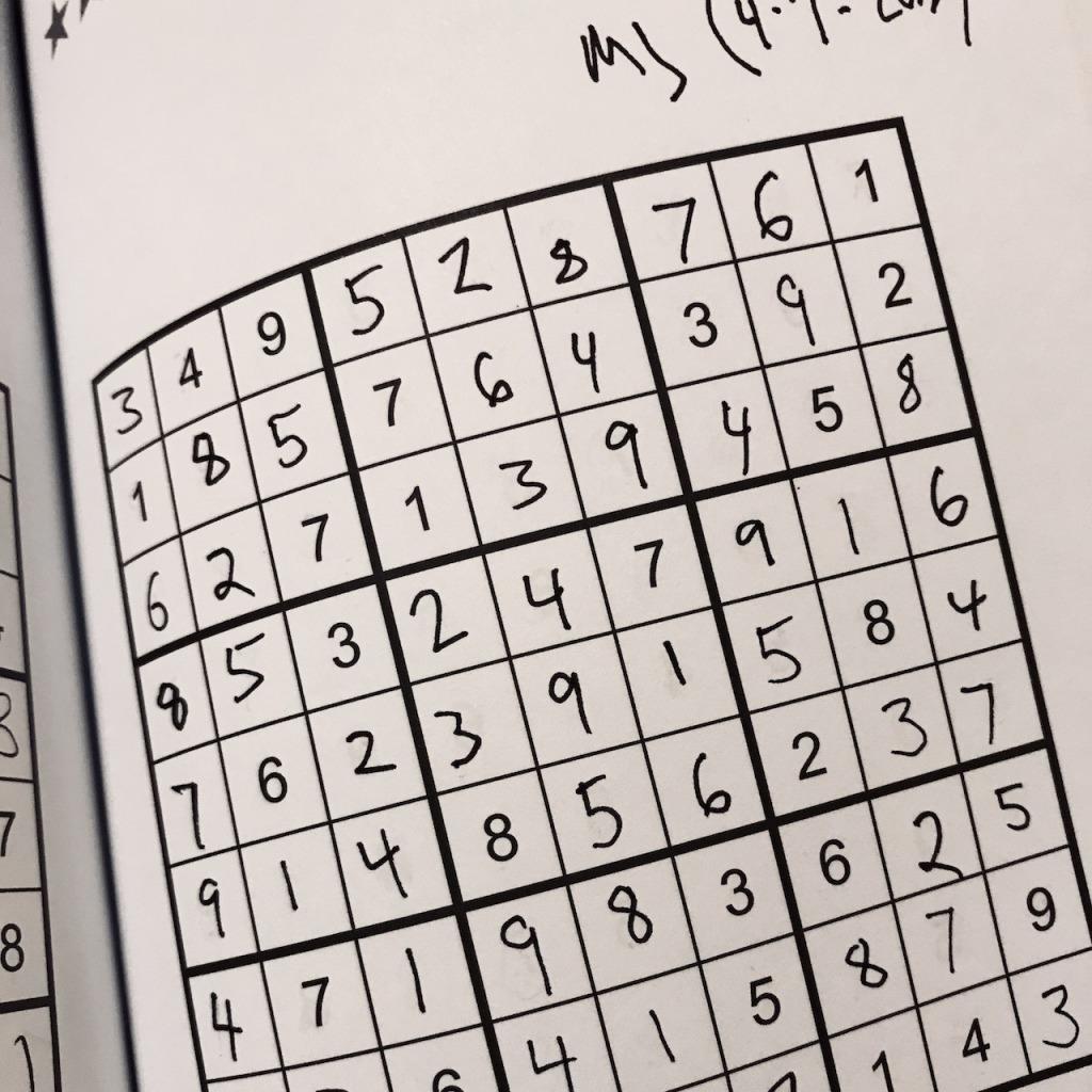 Focus Exercise with Sudoku – Matthew Johnson