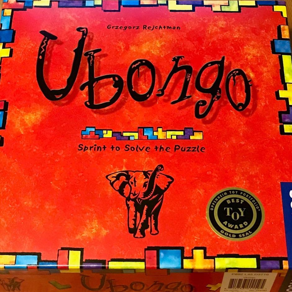 Ubongo Game Box